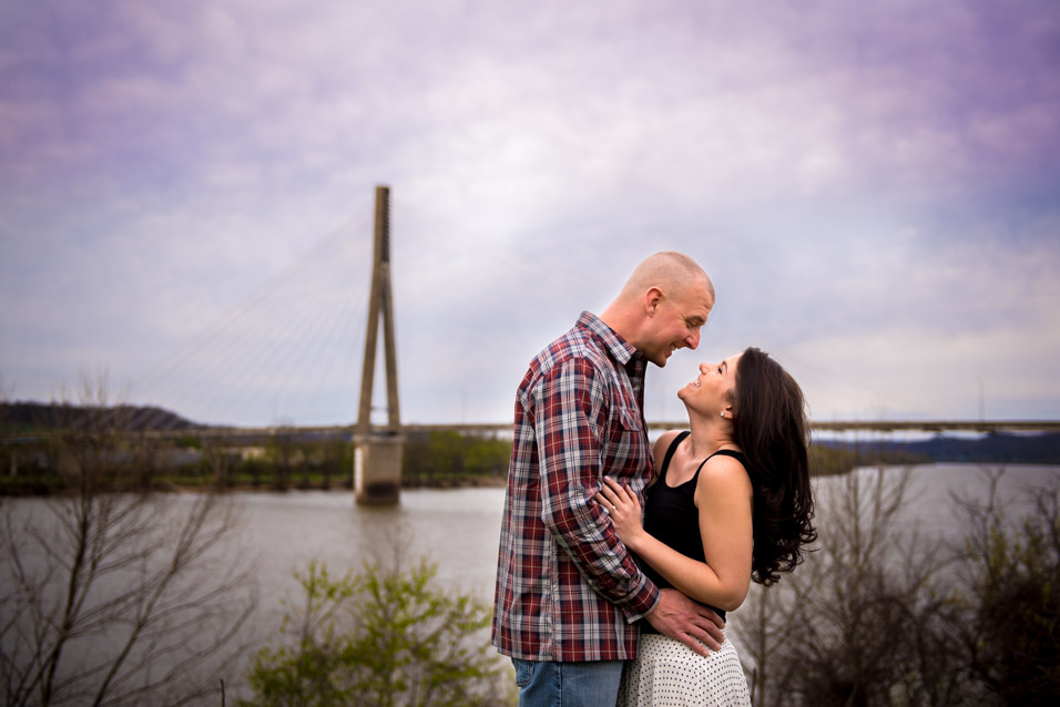 huntington wv engagement photos-5