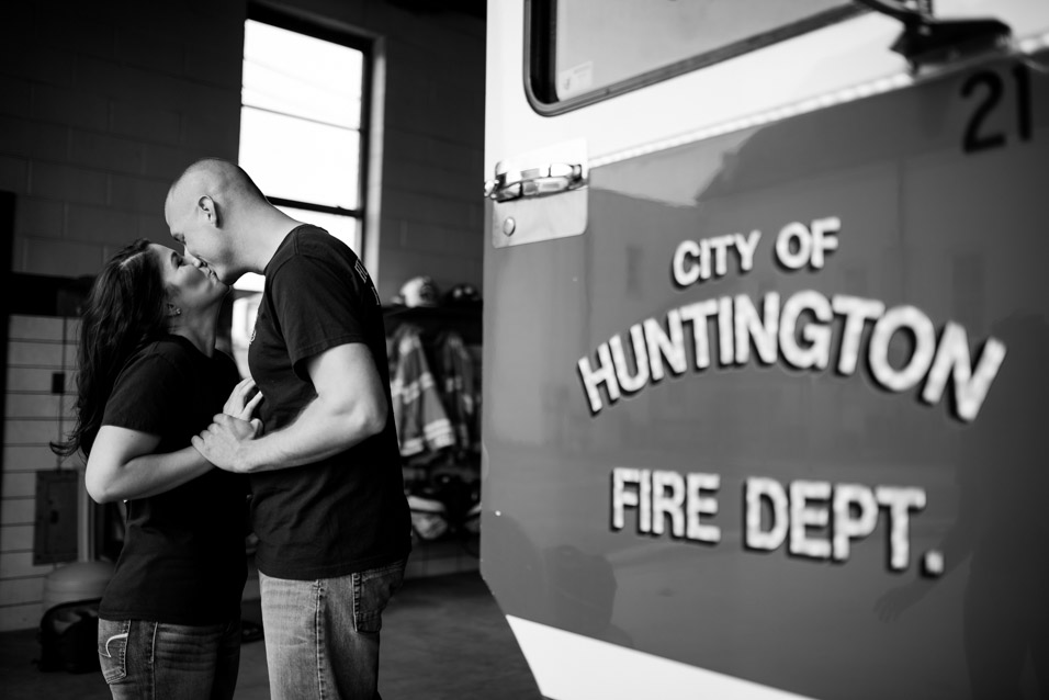 huntington wv fire department engagement pictures-2
