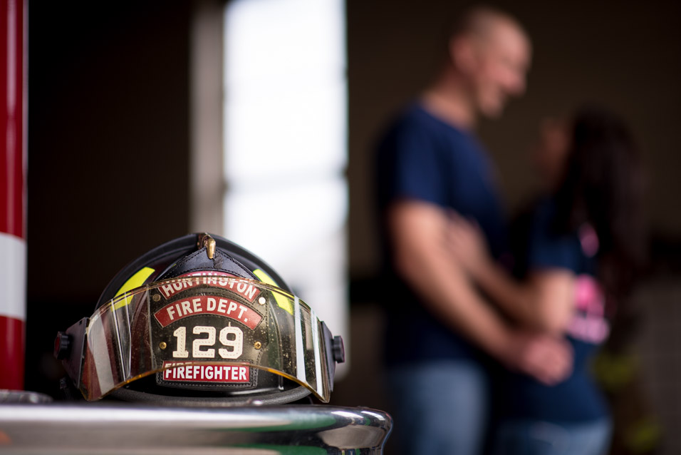 huntington wv fire department engagement pictures-3