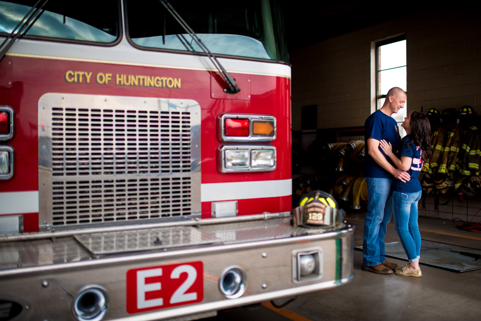 huntington wv fire department engagement pictures-4