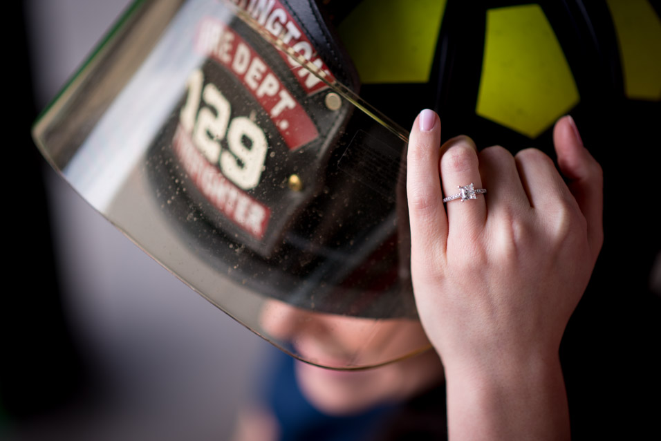 huntington wv fire department engagement pictures-5
