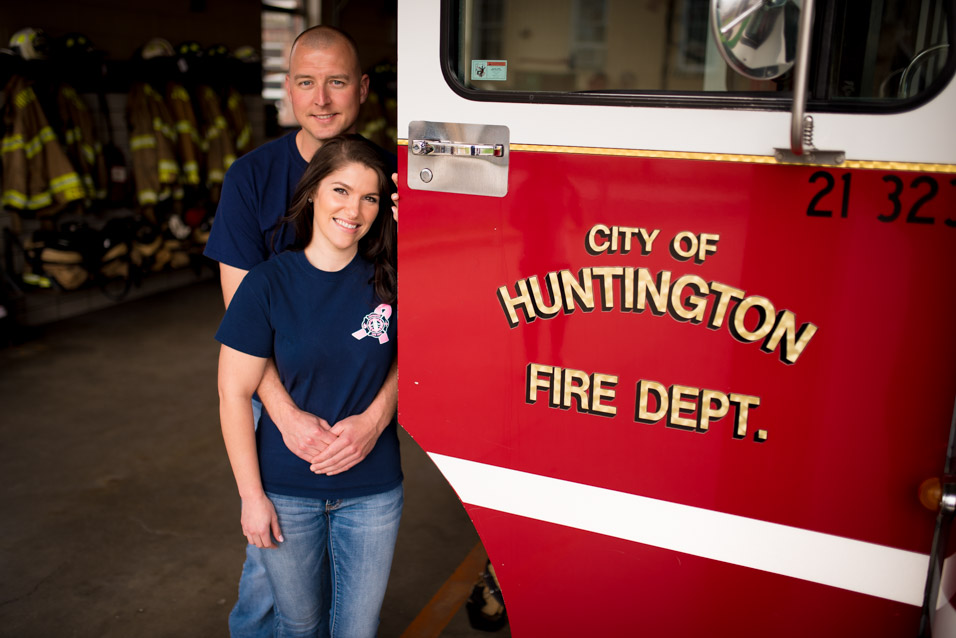 huntington wv fire department engagement pictures
