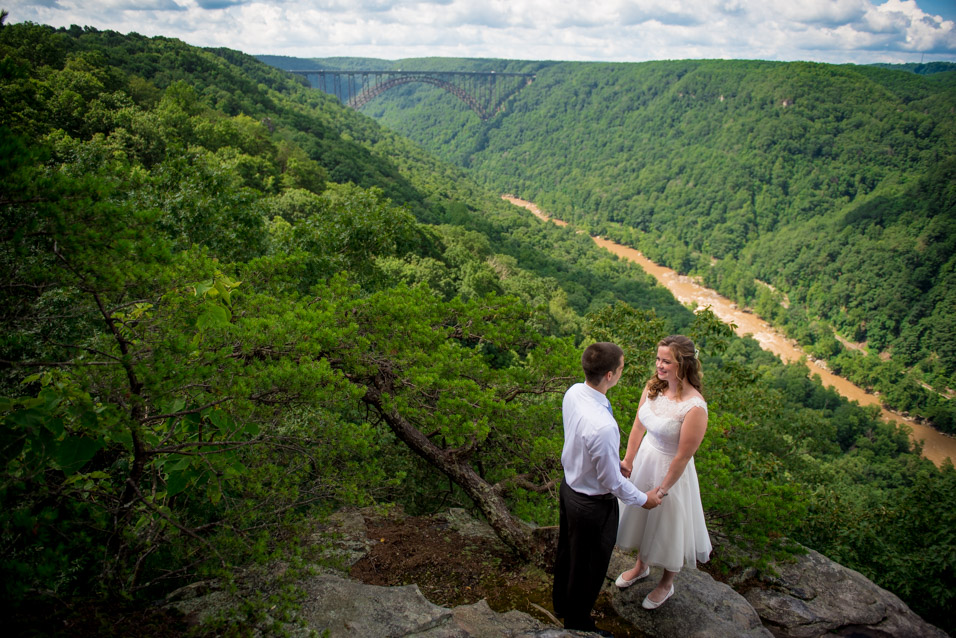 Adventures On The Gorge wedding picture