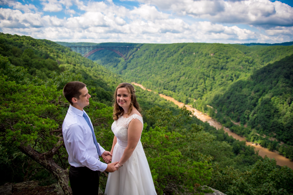 Adventures On The Gorge wedding photo