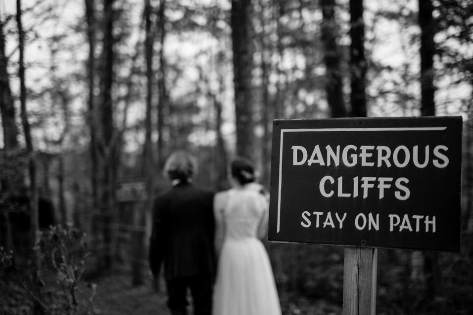 adventures on the gorge wedding WV