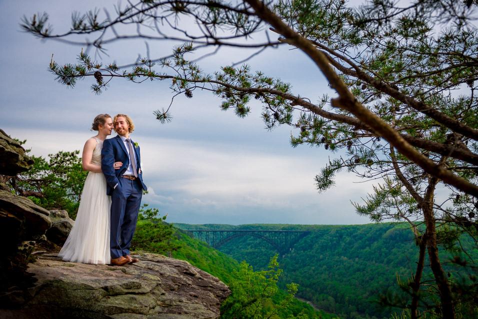 adventures on the gorge wedding photographer