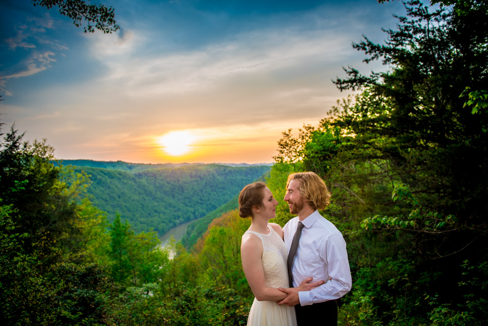 new river gorge wedding photography