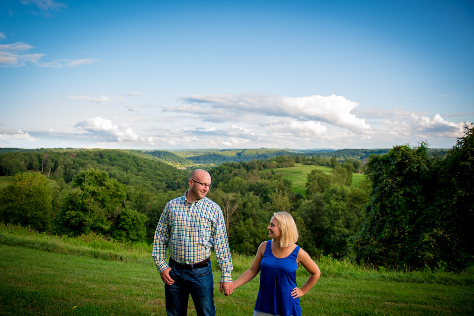 WV Rustic Engagement