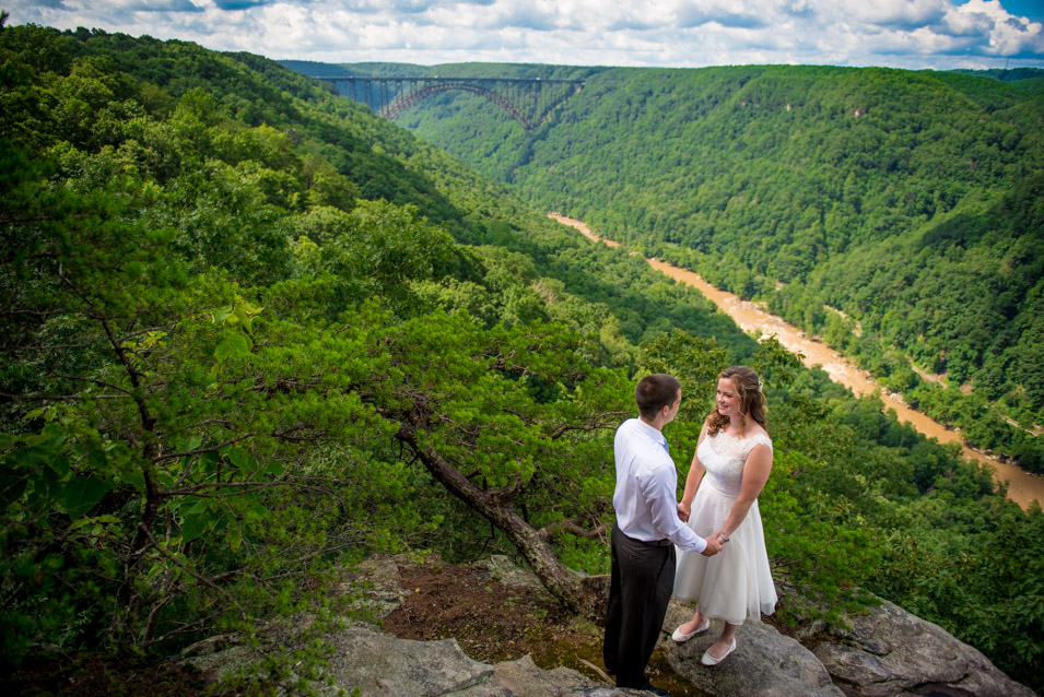 adventures on the gorge wedding