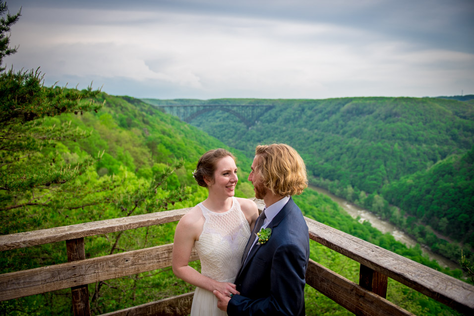 adventures on the gorge wedding WV
