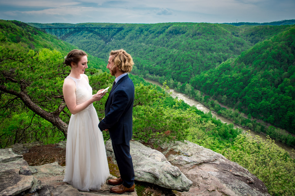 adventures on the gorge weddings