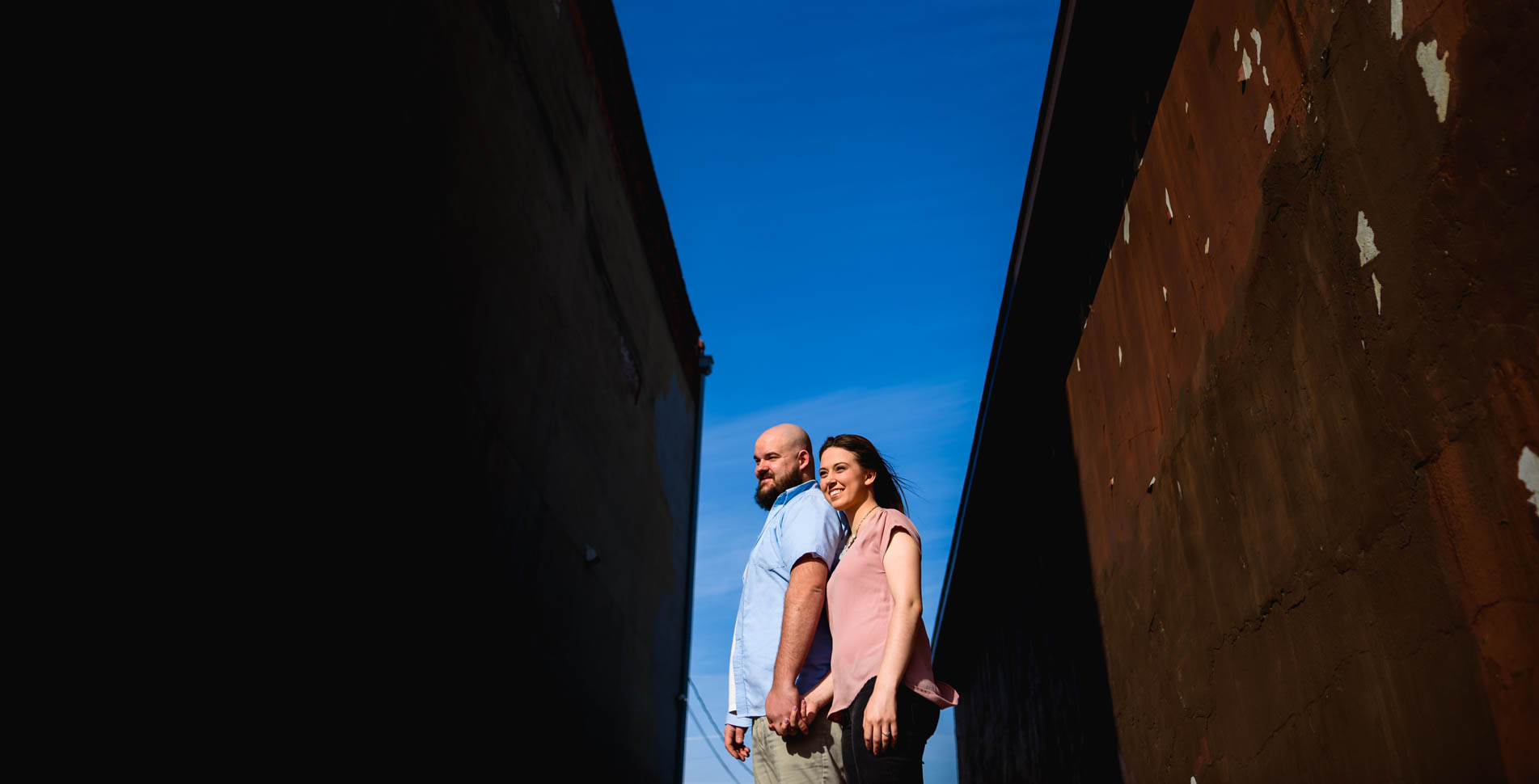 Nelson & Jocie's Marietta Ohio Engagement Pictures