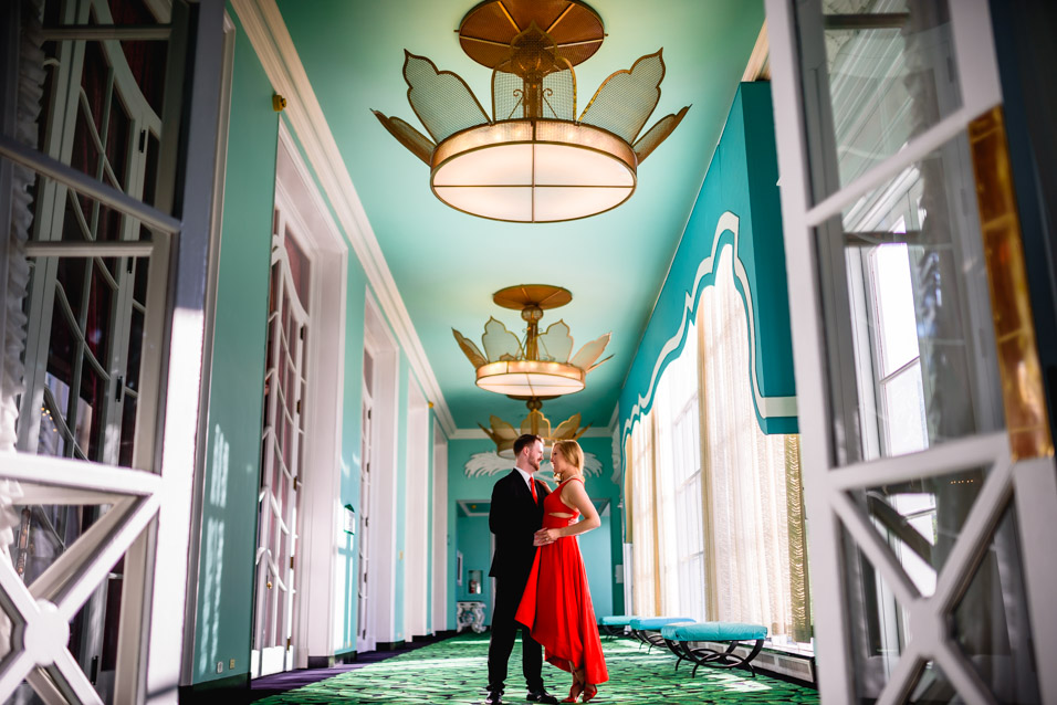 The-Greenbrier-Engagement-Session