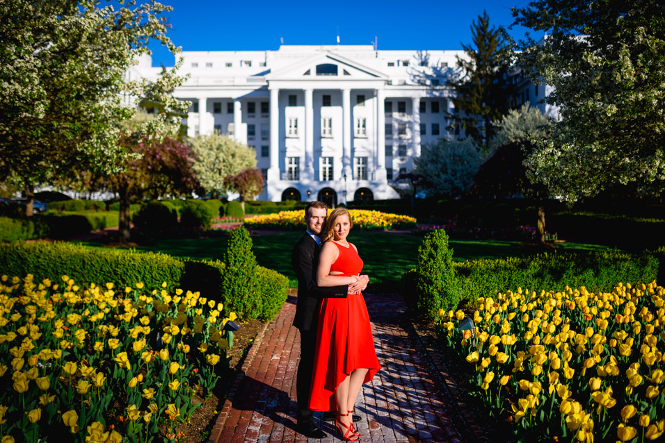 The-Greenbrier-Resort-WV-Engagement-Session