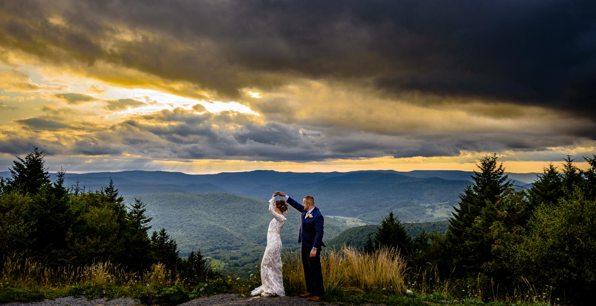 Snowshoe Mountain Wedding | Ashley & Eric