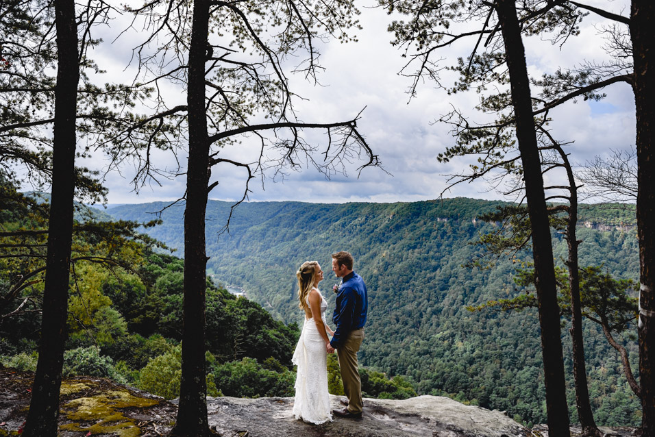 Beauty Mountain Elopement Pictures