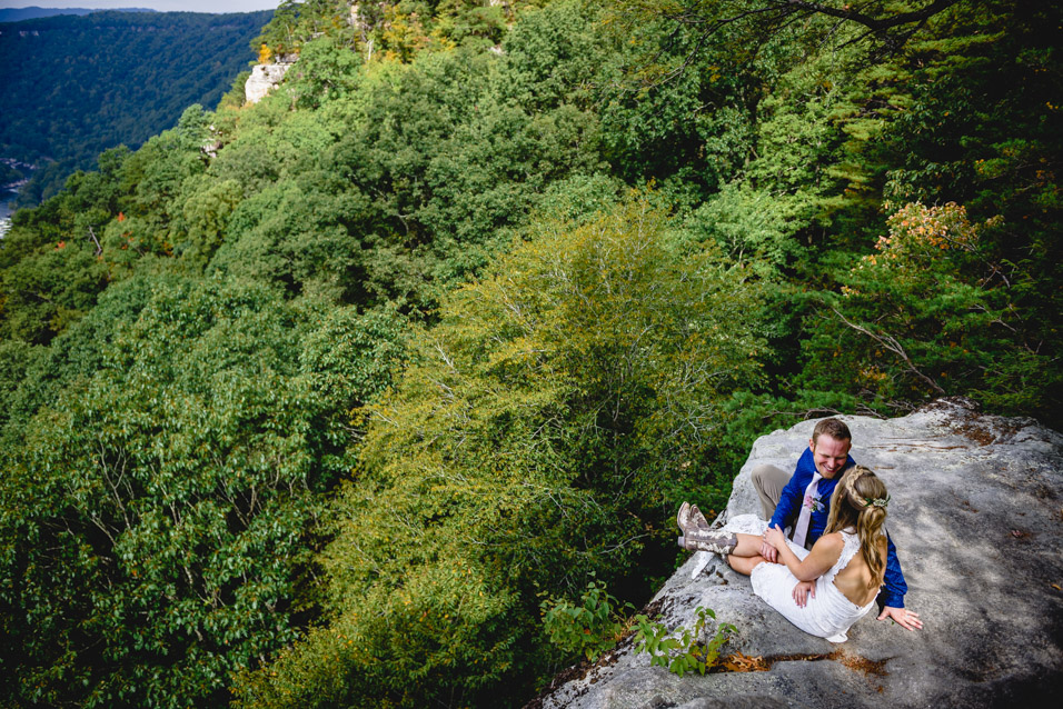 Elopement on the New River Gorge_-3