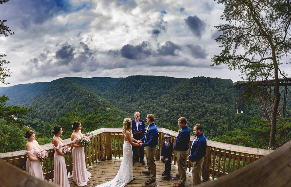 New river Gorge fayetteville wv wedding
