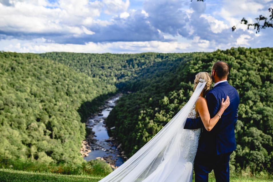 Wilderness Lodge Summersville West Virginia Wedding