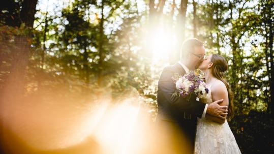 Coopers Rock State Forest wedding